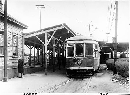 Brooklyn Trolley #8352, Rockaway Line, Canarsie Shuttle, 1950