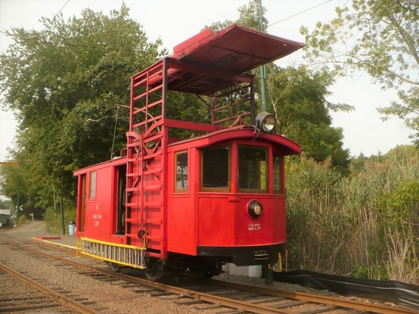 built in 1923 by the Ottawa Car Company and operated on the Ottawa Electric Railways in Ontario, Canada. It can regularly be found in-service on the Branford Electric Railway