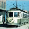 An Atlanta streetcar in the 1940s