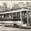 Atlanta Rapid Transit Co. single-truck car southbound on Peachtree Street at Forrest Avenue (now Ralph McGill Blvd.)