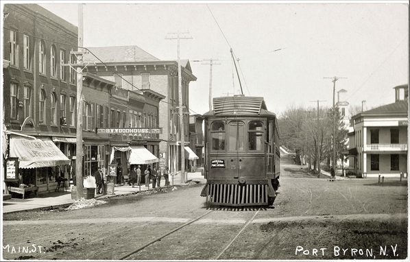 Rochester, Syracuse & Eastern In Byron, NY