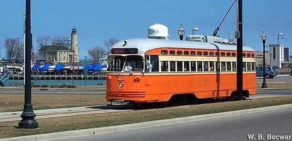 Kenosha operates 6 street cars painted to represent various lines of the past, including Toronto, Cincinnati, Pittsburgh, Chicago, & Johnstown, PA