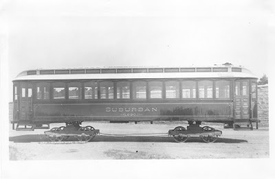 Suburban Railway operated in Providence R.I & 675 & 690 were used on the BUTTERWOODS line from Providence