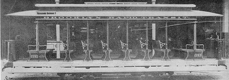 10-bench open was sold to the EH&A by the Brooklyn Rapid Transit Company in 1907