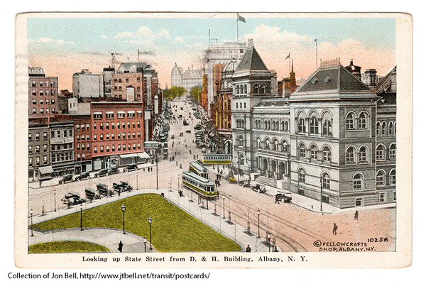 Albany Post Card