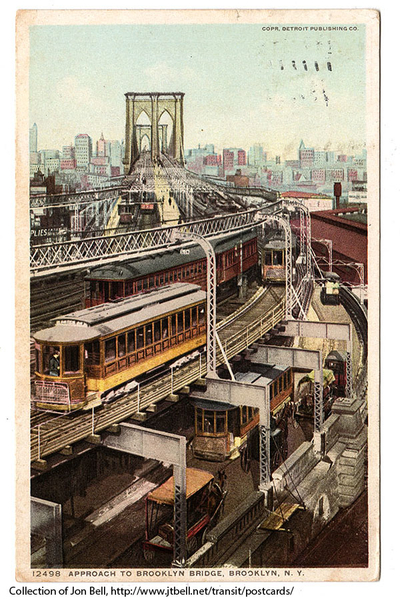 ApproachToBrooklynBridge-1911