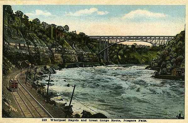 Great Gorge Niagara Gorge Trolley 1920s