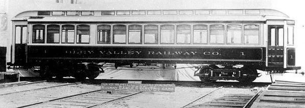 Builder photo of Oley Valley Railway Car #1