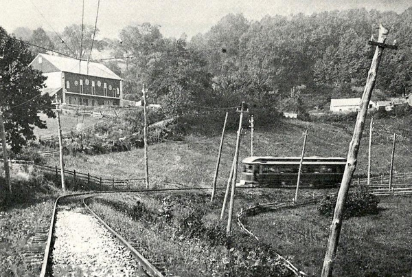 Horseshoe Curve On The Oley Valley Near Shanesville