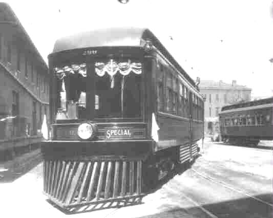 Union Traction 299, named Martha was a business car built by St. Louis Car in 1901. It was out of service by 1930