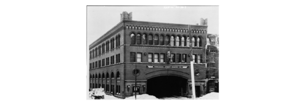 Worcester Consolidated Street Railway, Administration Building, 99-109 Main Street