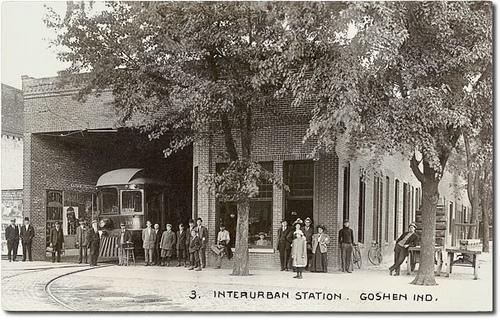 Winona Station in Goshen
