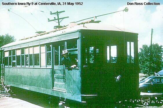 Southern Iowa Ry Car 9
