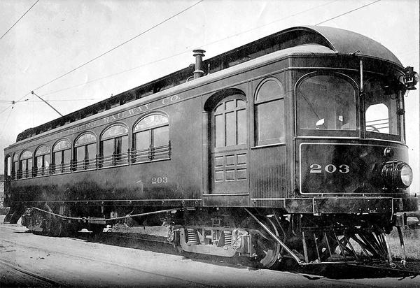 Joplin & Pittsburg Ry Car 203 n