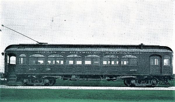 Joplin & Pittsburg Ry Car 203