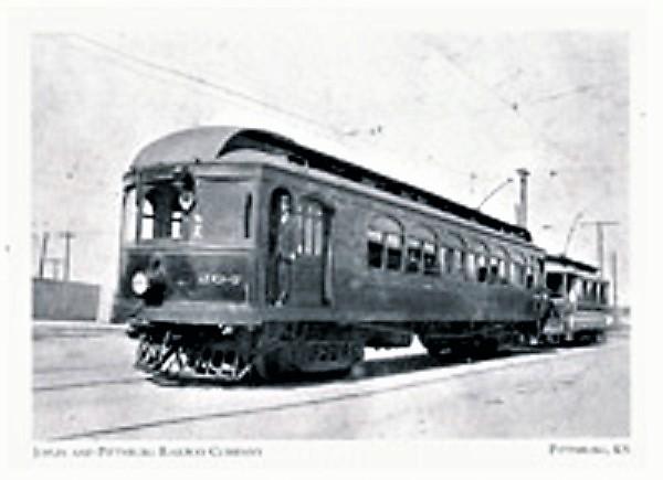Joplin & Pittsburg Ry Car 204