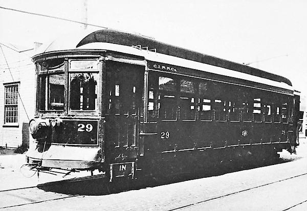Charlston Interurban RR Co. Car 29