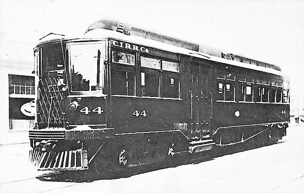 Charlston Interurban RR Co. Car 44