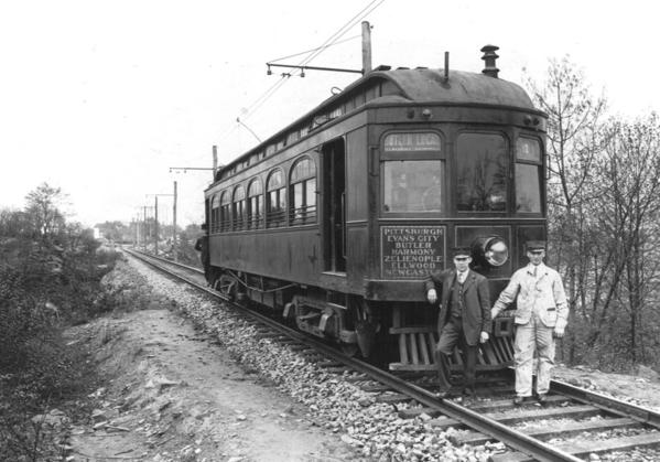 Harmony interurban trolley line