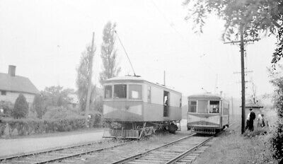 Hagerstown & Frederick Railway Electric Interurban Car No. 5 and 48