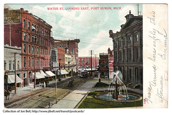 WaterStLookingE-1906