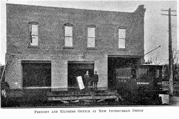 Interurban Depot, Valley Traction Co, 6th & Main, Walla Walla 1910