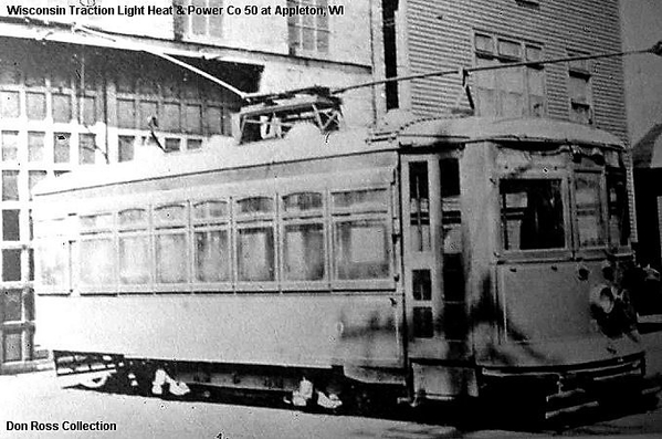 Wisconsin Traction, Light, Heat and Power Company Car 50