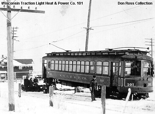 Wisconsin Traction, Light, Heat and Power Company Car 101