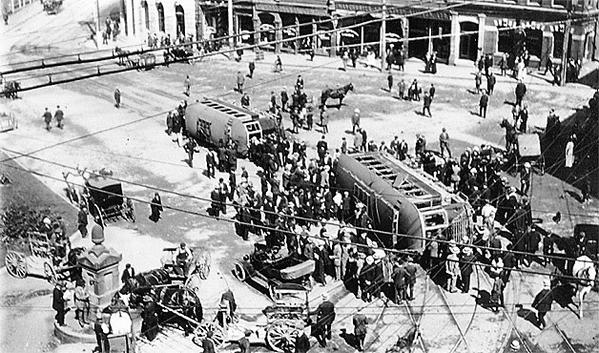 St Johns Canada Strike 1914