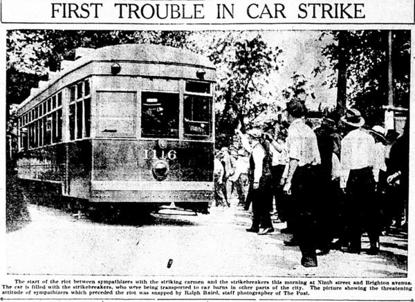 1917 Kansas streetcar-strike