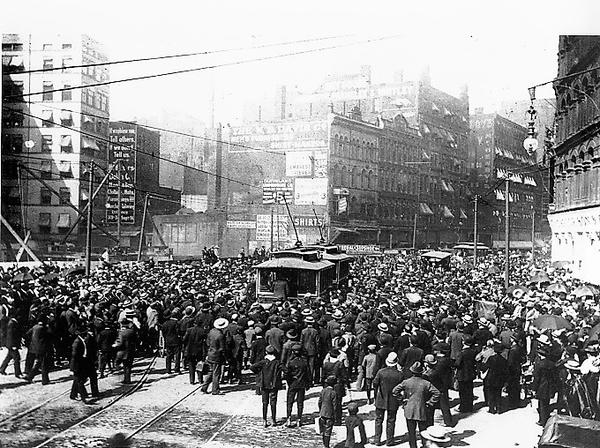 Cleveland Strike 1899