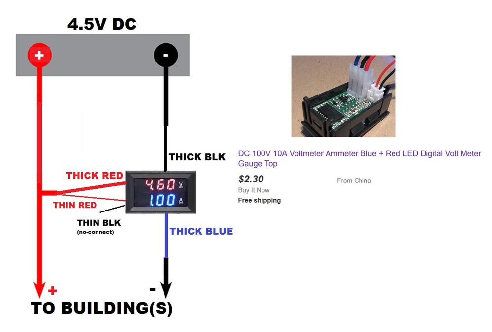 Wiring Help For Dc Volt  Amp Meter