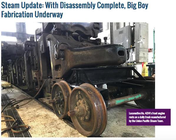March 2017 4014 Restoration Update