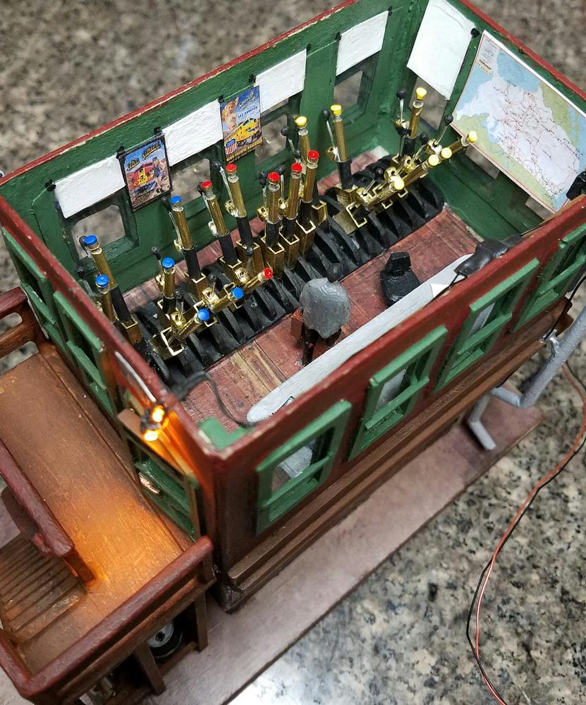 O Scale Fire Lookout Tower Scratch Build O Gauge
