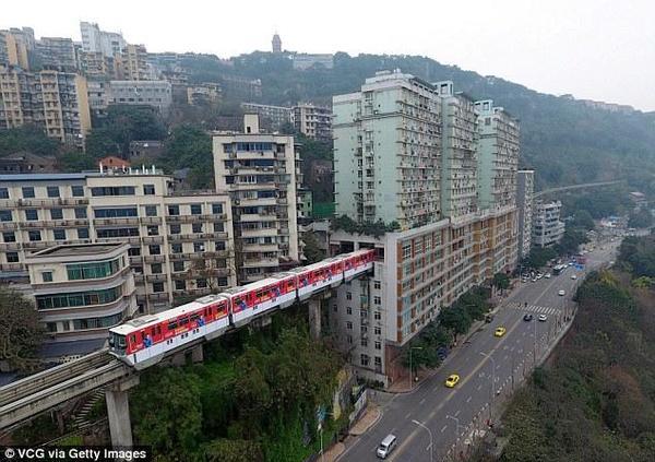 EL thorugh a building in China - 1