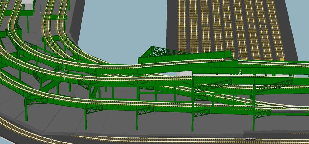 Subway Layout Master Rr Track Plan And Elevated 3d Views