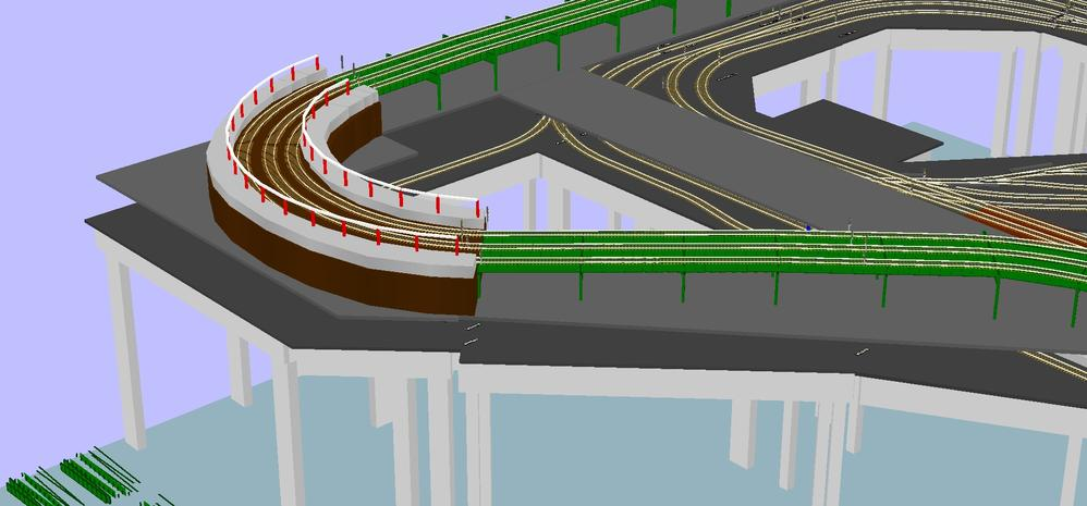 Subway Layout Master RR-Track Plan and Elevated 3D Views