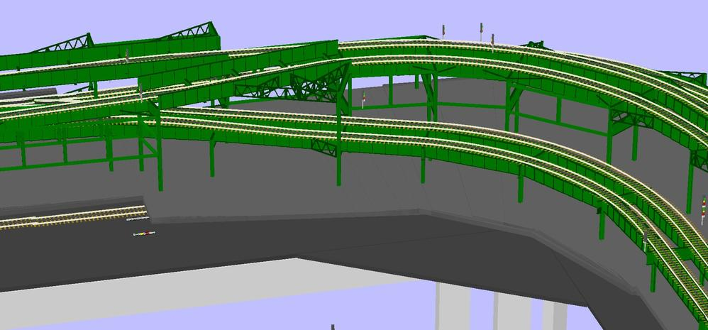 Layout Master Plan with Elevated 3D Views   O Gauge