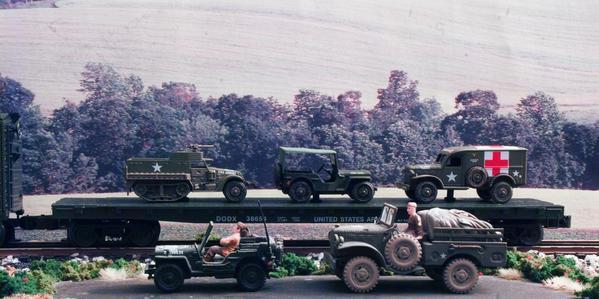 Military Flatcar [1 of 1)