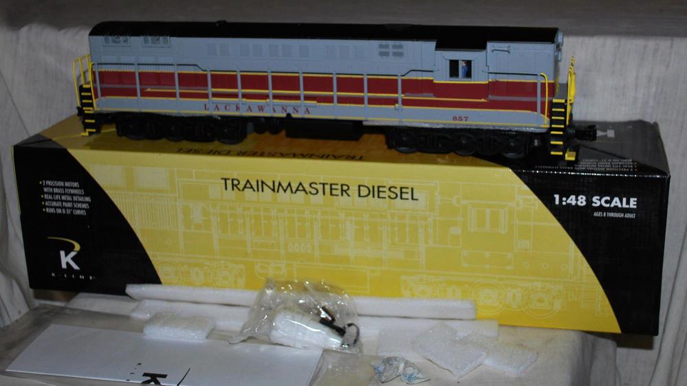 K Line Train Master   O Gauge Railroading On Line Forum Kline Locomotive Wiring Diagram on