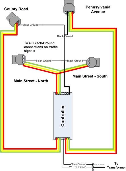 Traffic Light Wiring Diagram v005