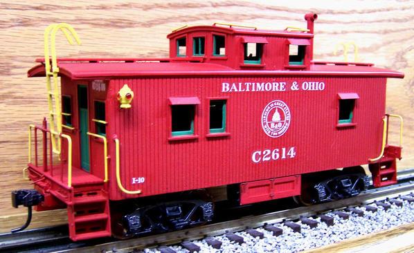 B&O I-10 caboose