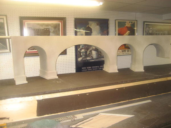 Concrete arch bridge 003