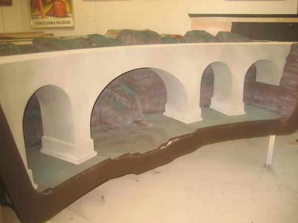 Concrete arch bridge 011