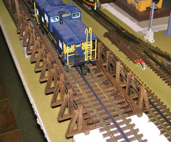 Angled Post Girder Bridge 008r