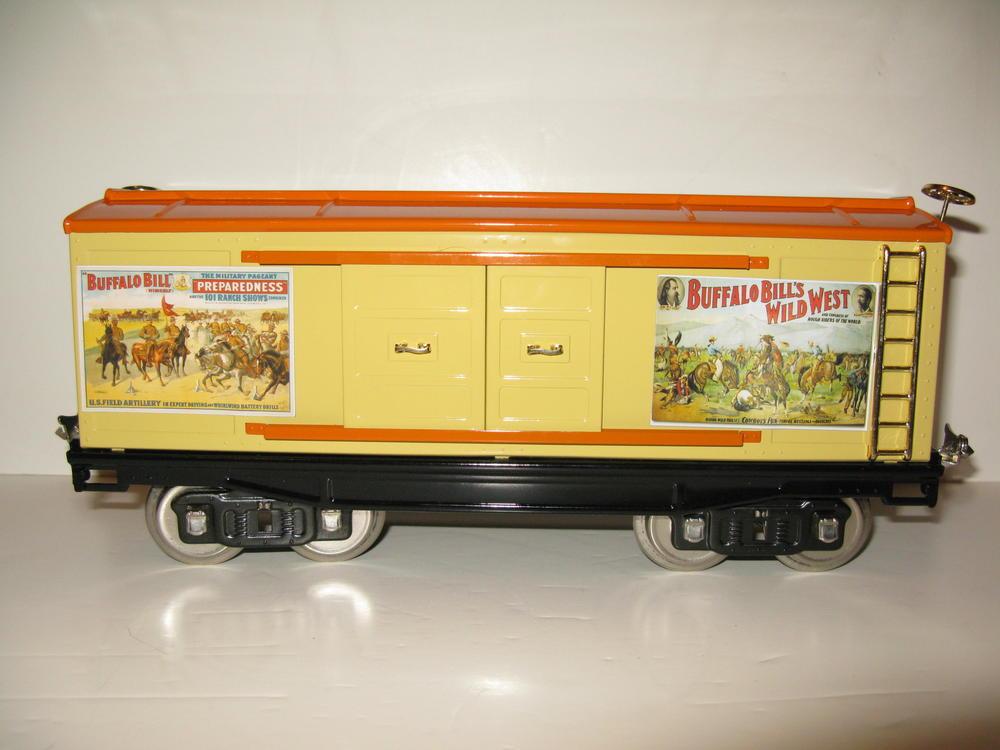 Wiring Diagram Lionel Cattle Car : Buffalo bills wild west show train o gauge railroading on line forum