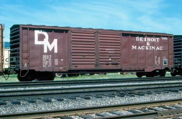 Detroit & Mackinac Railroad Boxcar