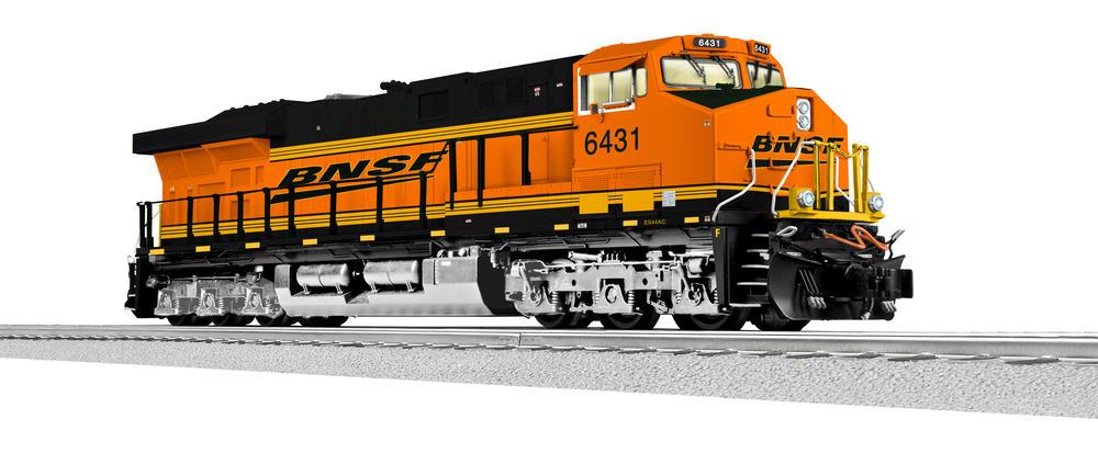 TRADE: Legacy ES44AC Die Cast BNSF   O Gauge Railroading On