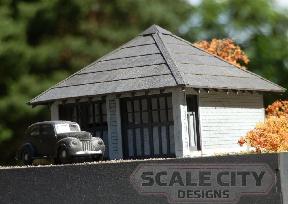 2 Bay Garage Kit New Release W Discount For Ogr Memebers