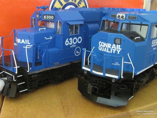 Conrail sd40_lionelt5